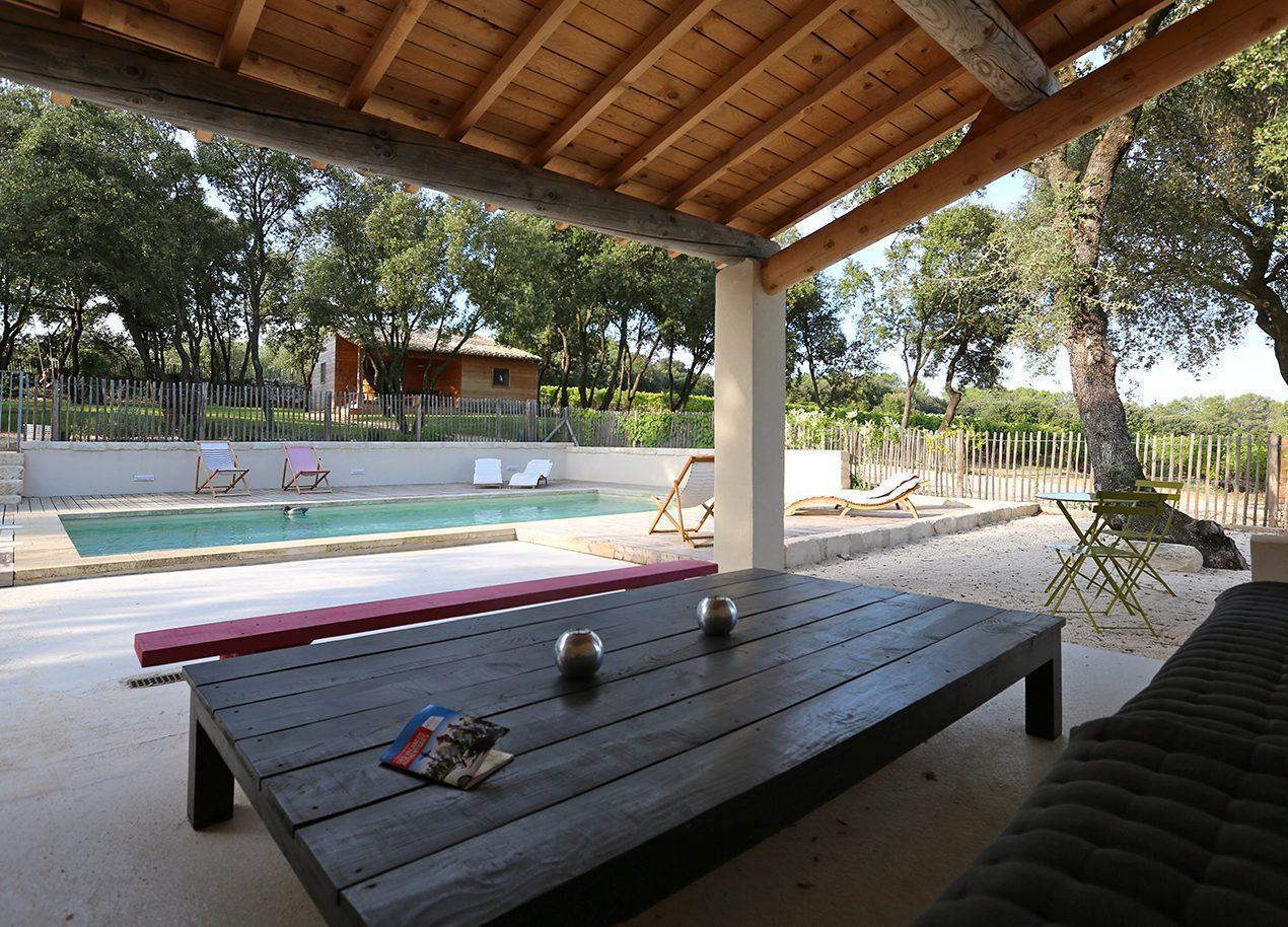 Les cabanes de caralles for La piscine pool
